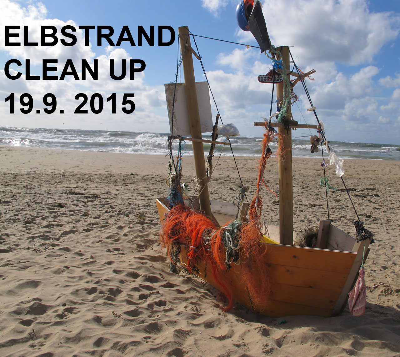 Elbstrand Clean Up 19.9.2015