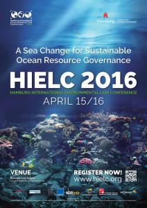 Third Hamburg International Environmental Law Conference in 2016