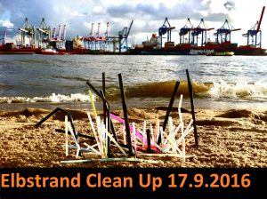 DEEPWAVE Elbstrand Clean Up Day 2016