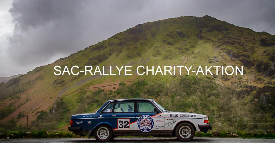 Charity-Rallye for DEEPWAVE