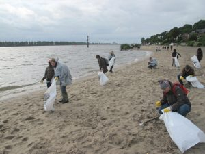 Elbe Clean Up Day c:) DEEPWAVE.org