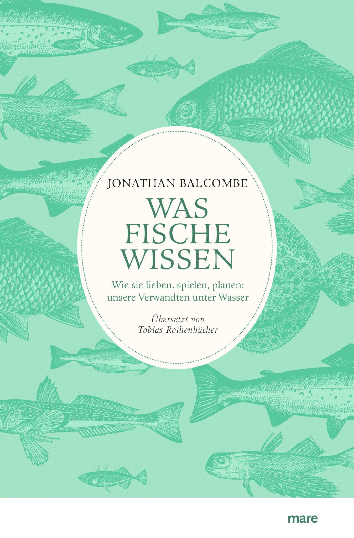 """Das Buchcover des Buchs """"Was Fische wissen"""""""